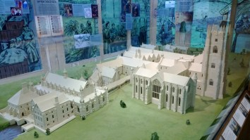 Full model of Fountains Abbey
