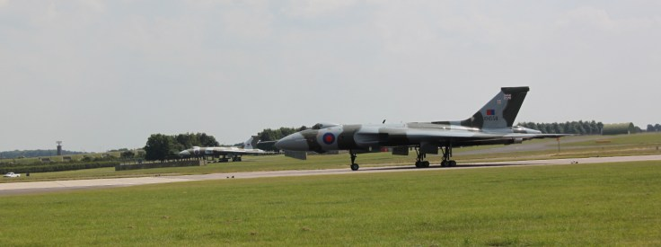 Vulcan at Waddington Air Show 2013