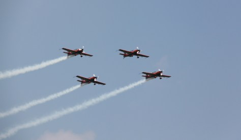 Breitling Extra 300 at Waddington Air Show 2013