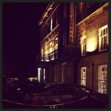 Our lovely hotel last night. #scarborough