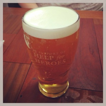 Pint of Tetley's Gold
