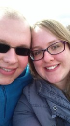 Me and Cameron in Scarborough