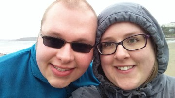 Won't let the rain dampen our happiness!