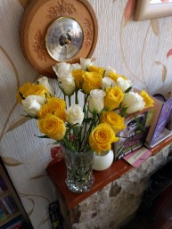 Beautiful Roses from Aunty Ann