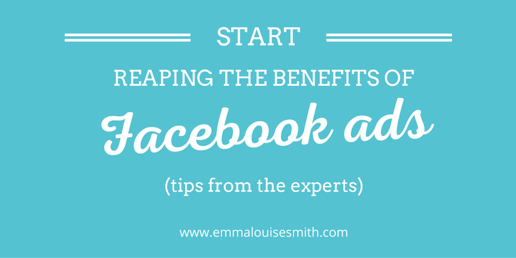 Facebook ad tips twitter