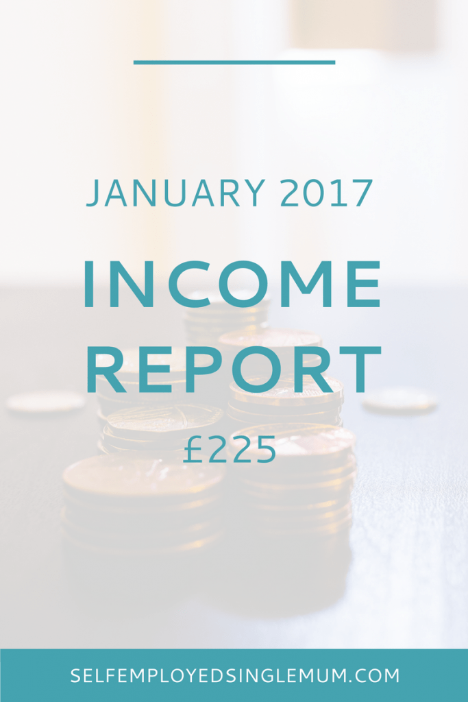 I'm back with my second income report and the first of 2017. I'm publishing these to be honest about the realities of self-employment as a single mother.