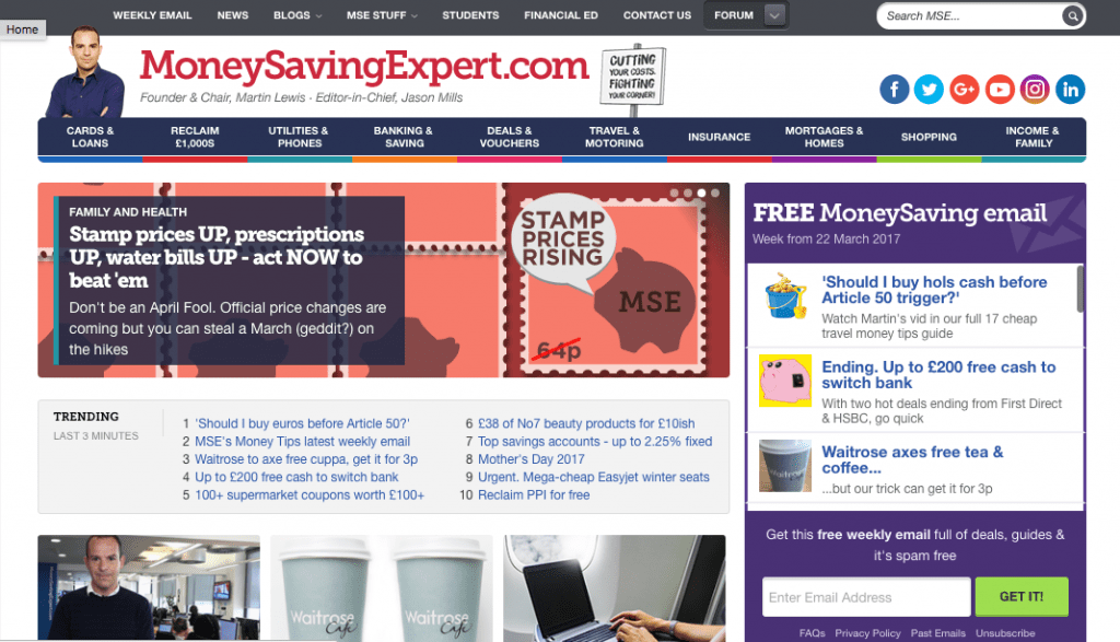 How to manage your money with the Money Saving Expert