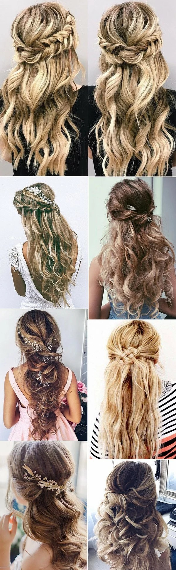 Wedding Hairstyles Long Hair Half Up Half Down The Royal Weddings