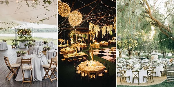 Top 18 Whimsical Outdoor Wedding Reception Ideas