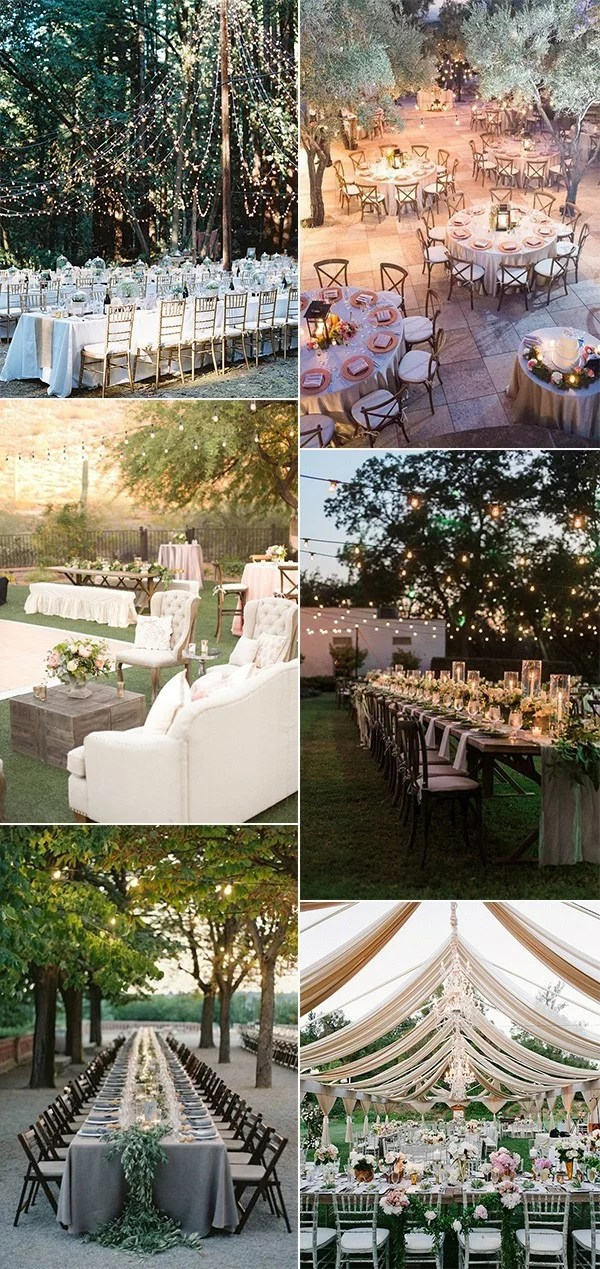 Top 18 Whimsical Outdoor Wedding Reception Ideas  EmmaLovesWeddings