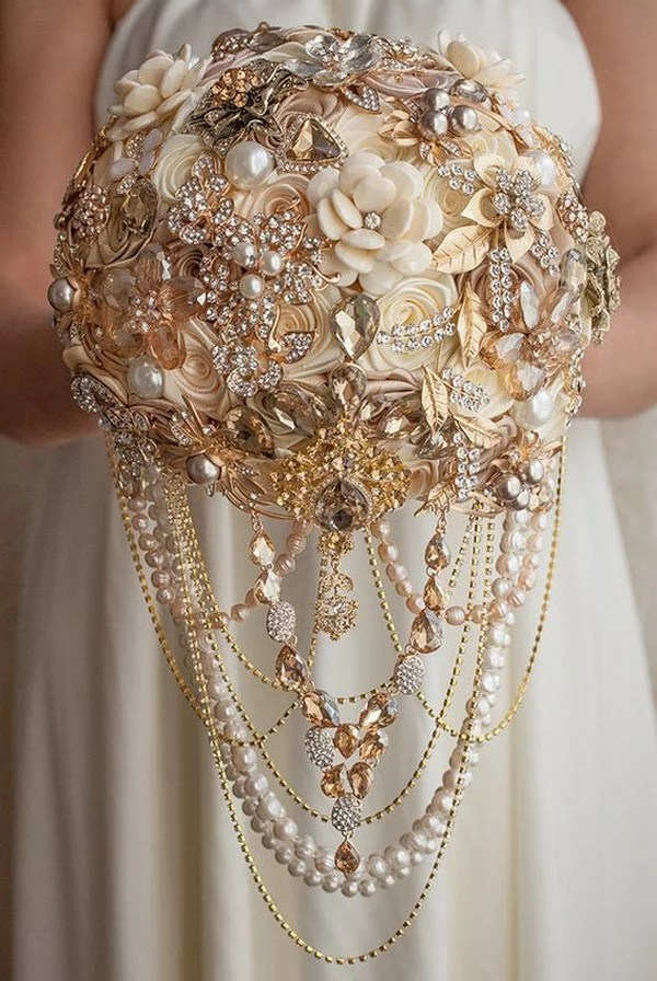 Brooch Bouquets For Weddings