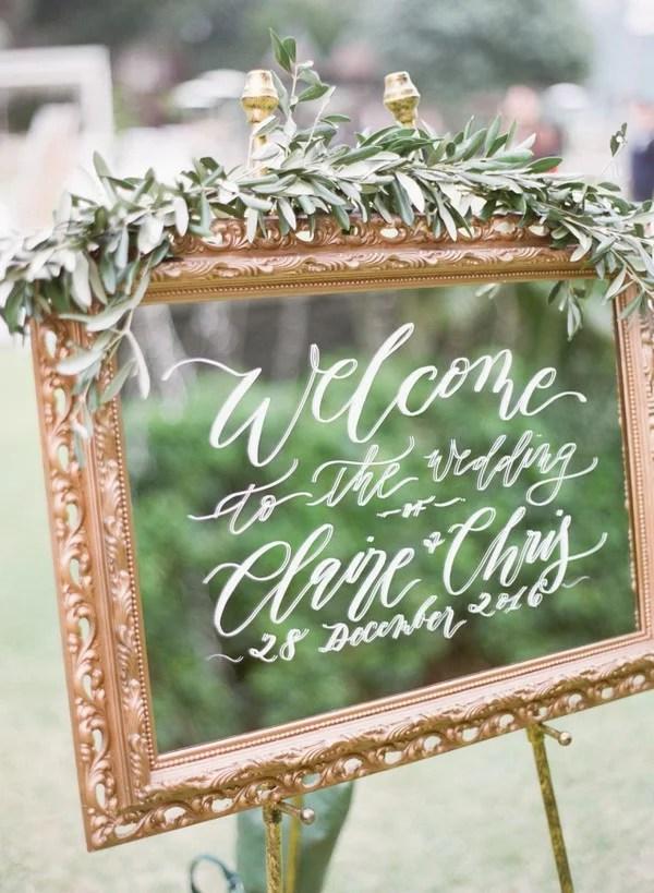 18 Brilliant Vintage Mirror Wedding Sign Ideas for 2018
