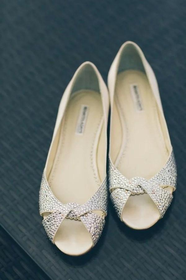 Comfortable Ivory Wedding Shoes