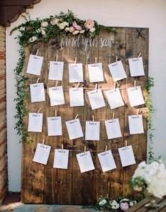 Chic rustic wedding seating chart ideas also trending display for rh emmalovesweddings