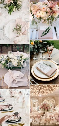 12 Super Elegant Wedding Table Setting Ideas ...