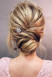 pretty updo wedding hairstyles