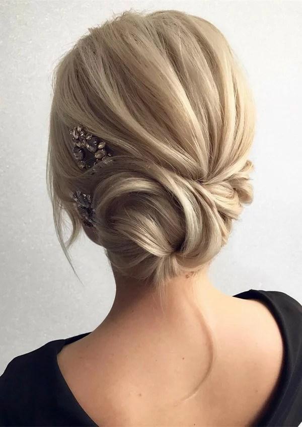 updo wedding hairstyles for medium hair