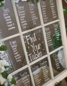 Vintage wedding seating chart ideas with old windown also emmalovesweddings rh