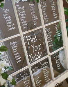 Vintage wedding seating chart ideas with old window also trending display for rh emmalovesweddings