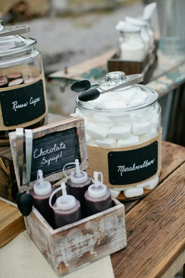 15 Sweet Smores Bar Wedding Food Station Ideas  EmmaLovesWeddings