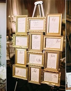 Wedding seating chart display ideas also trending for rh emmalovesweddings