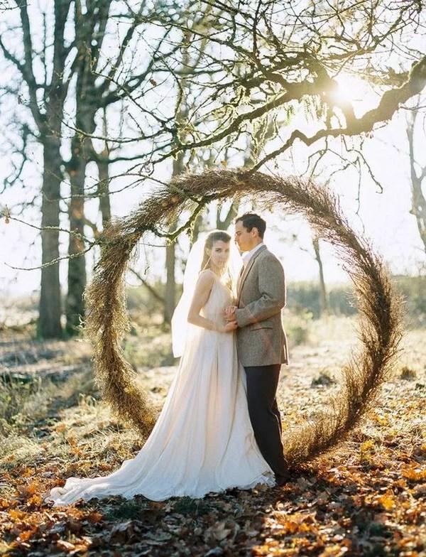 Top 20 Pretty Circular Wedding Arches for 2018 Trends  EmmaLovesWeddings