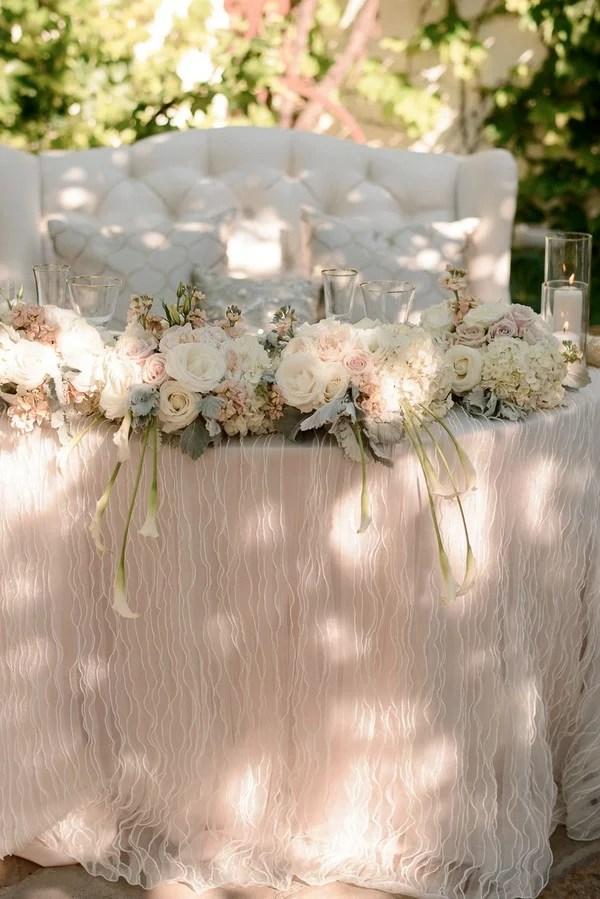 18 Vintage Wedding Sweetheart Table Decoration Ideas  Page 2 of 2  EmmaLovesWeddings