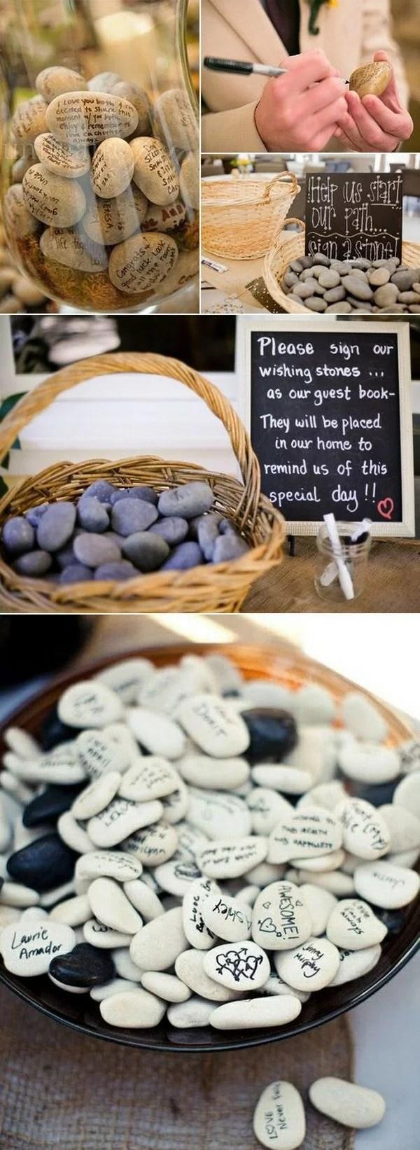 25 Creative Wedding Guest Book Ideas  EmmaLovesWeddings