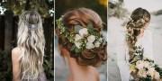 boho chic wedding hairstyles