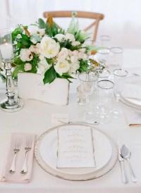 Green Wedding Table Settings & Sneak Peek River Farm ...