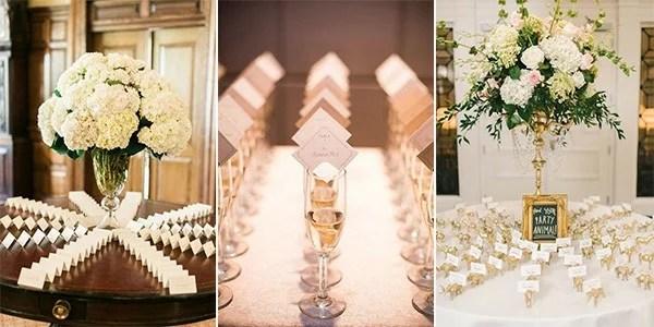 Elegant Wedding Place Card Ideas