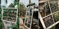 20 DIY Wedding Decoration Ideas with Vintage Windows