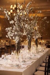 20 Whimsical Winter Wonderland Wedding Centerpieces ...