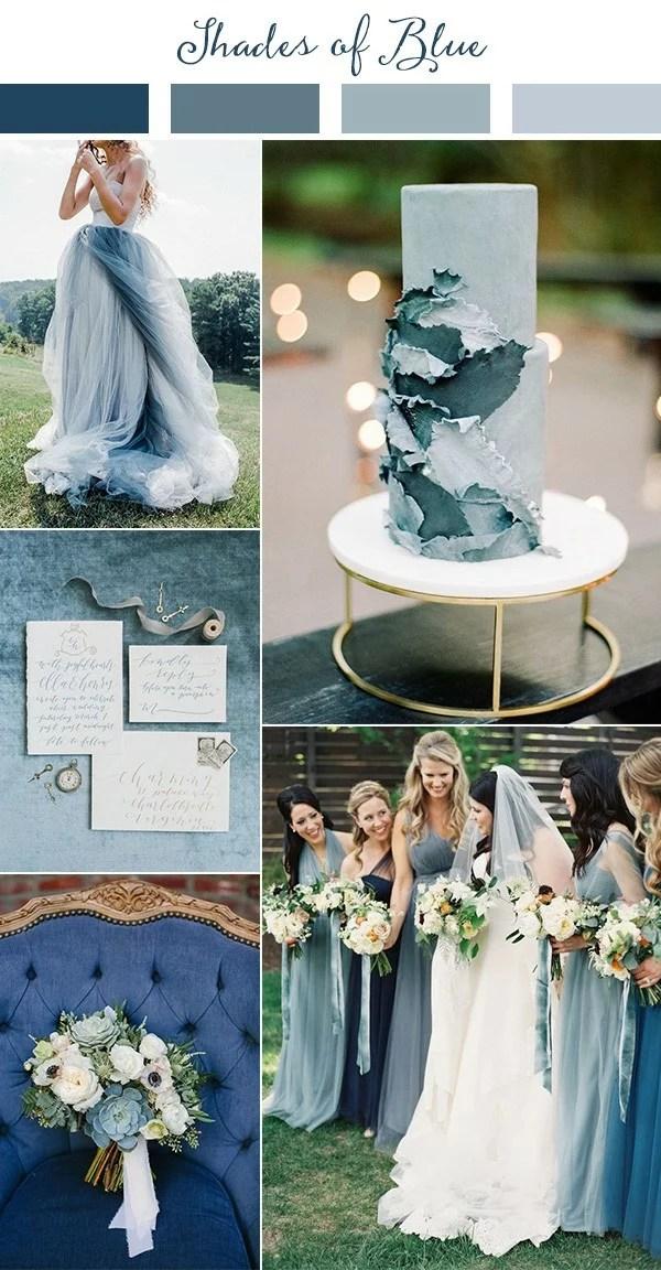 Wedding TrendsTop 10 Wedding Colors Ideas for 2019