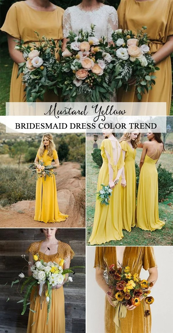 Top 5 Bridesmaid Dress Color Trends for 2019  EmmaLovesWeddings
