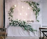 18 Amazing Wedding Head Table Backdrop Decoration Ideas ...