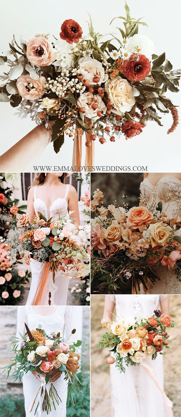 In fall 2021, we are seeing stronger, bolder colors. 2021 Trending-28 Amazing Sunset Orange Wedding Color Ideas