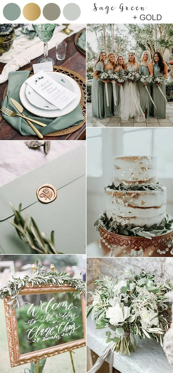 Top 10 Fall Wedding Colors for 2019 Trends Youll Love  EmmaLovesWeddings