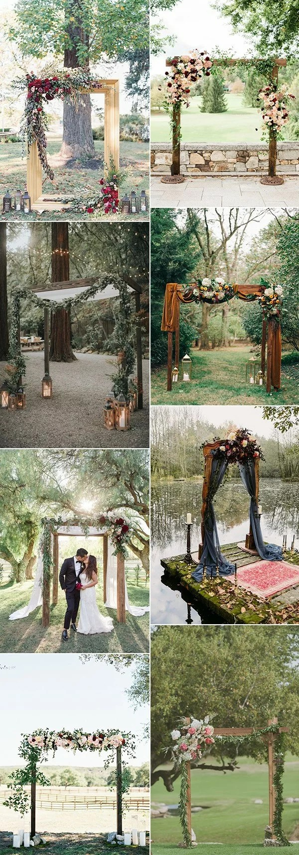20 Best Outdoor Fall Wedding Arches For 2021 Emmalovesweddings