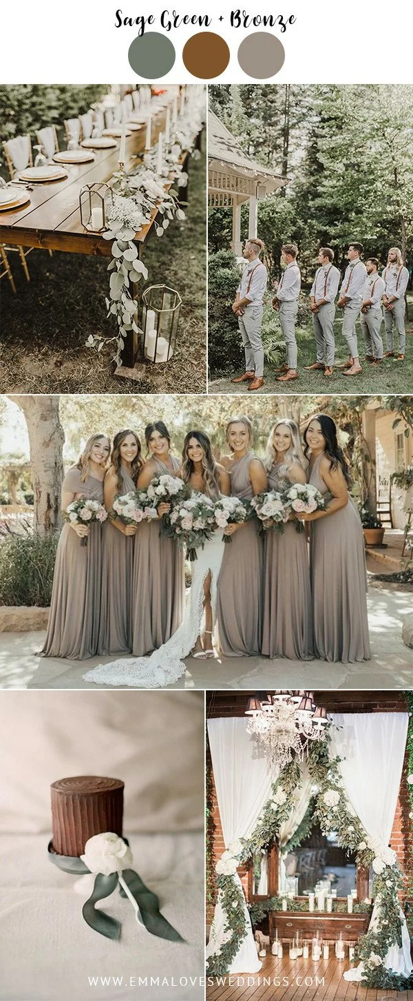 8 Vintage Wedding Color Ideas To Steal In 2019