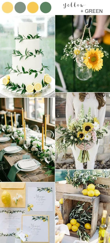 Top 10 Wedding Color Ideas For Spring Summer 2020