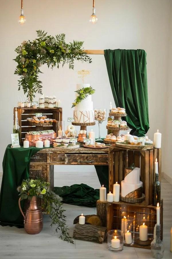 20 delicious wedding dessert table