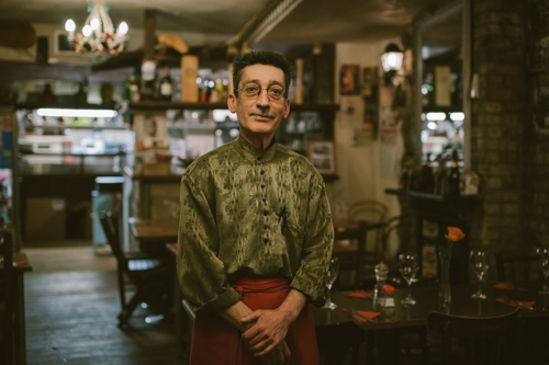 Tony, Trattoria di Luigi, Stoke Newington Church Street. Day 39.