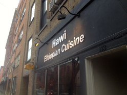 Hawi Ethiopian Cuisine is located on South Cayuga Street in Downtown Ithaca.