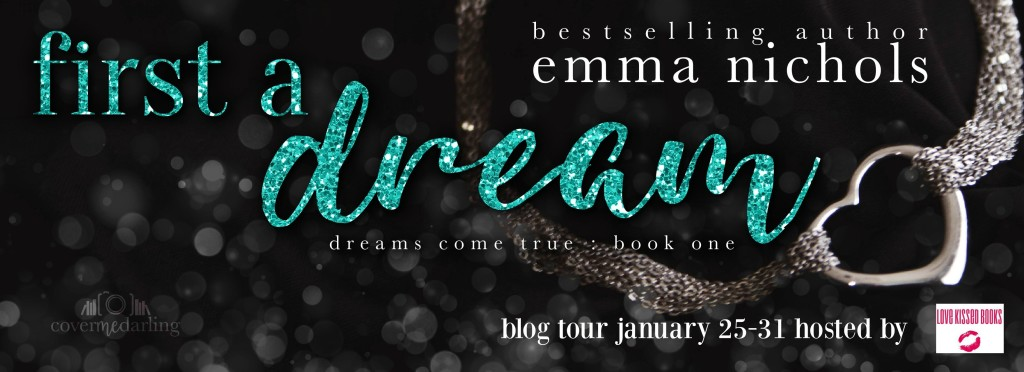 First a Dream Blog Tour Banner