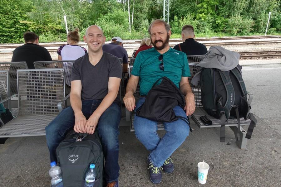 Train from Munich to Regensburg