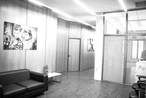 Hall segunda planta