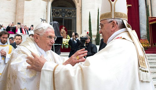 Two living popes
