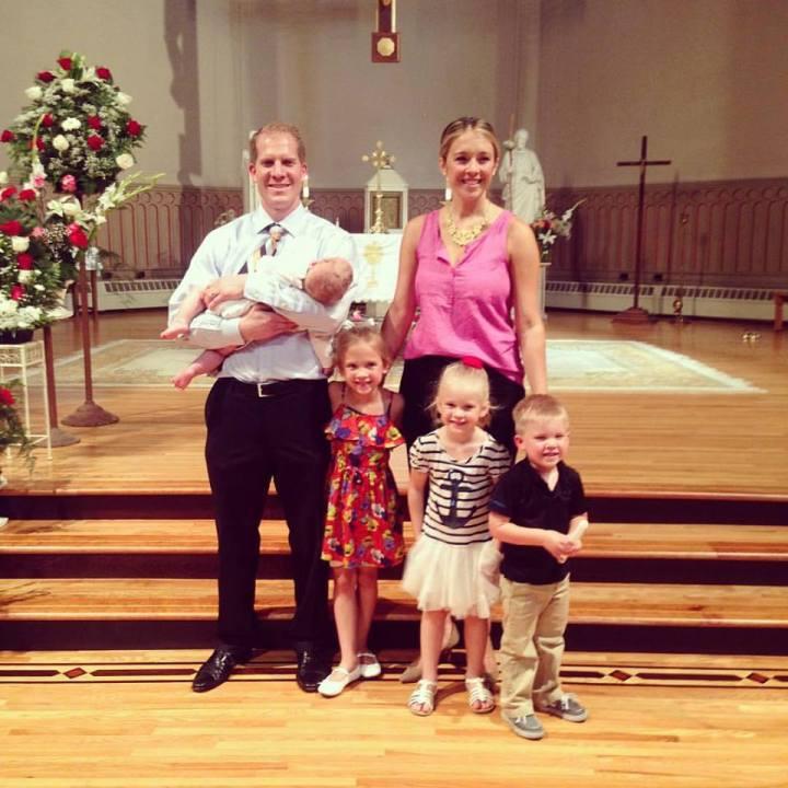 Vianney Baptism Family