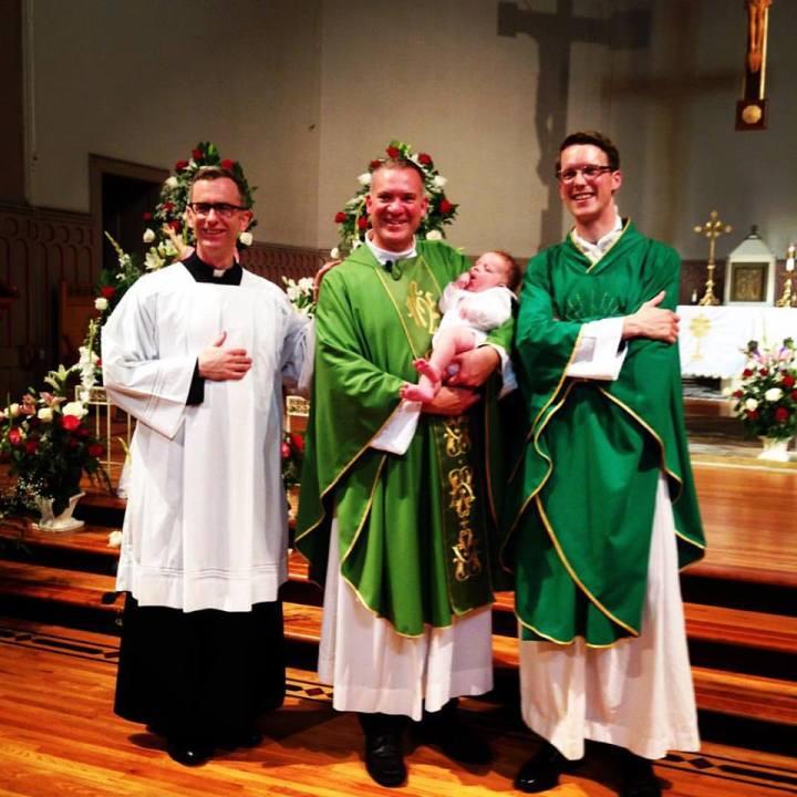 Vianney Baptism Priests